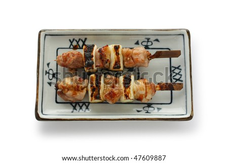 Japanese skewered chicken,Yakitori