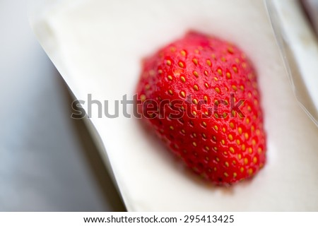 japanese strawberry short cake