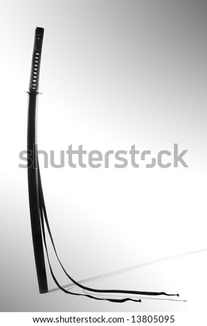 japanese sword - stock photo