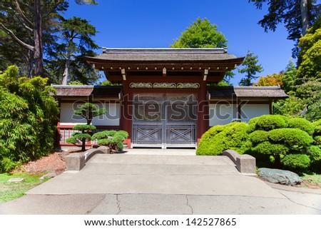 Japanese Tea Garden, San Francisco, California - stock photo
