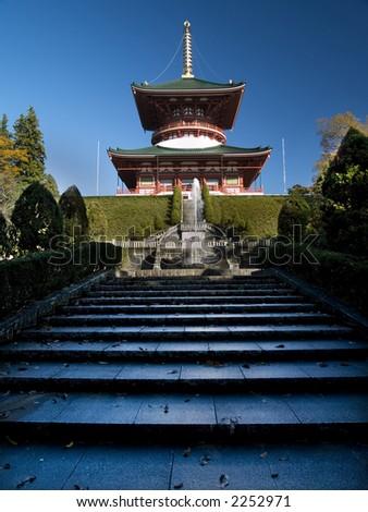 Japanese Temple - stock photo