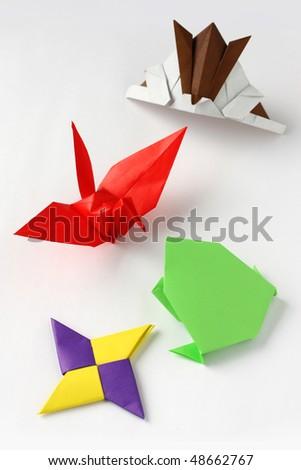 Japanese Traditional Origami - stock photo