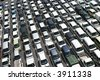 Japanese used car auction lot  - stock photo
