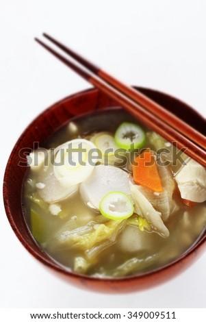 japanese cuisine kenchinjiru japanese vegetarian food kenchinjiru miso ...