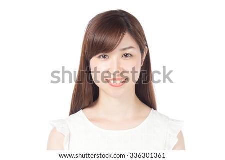 Japanese?woman - stock photo