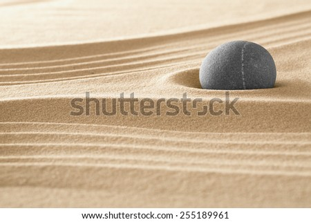 japanese zen garden stone and sand pattern for relaxation and meditation stands for harmony and spirituality or relaxation spa wellness background