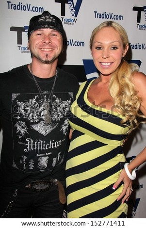 "Jared Blake and Mary Carey at ""Politically Naughty with Mary Carey"" Featuring Jared Blake, TradioV Studios, Los Angeles, CA 08-26-13"
