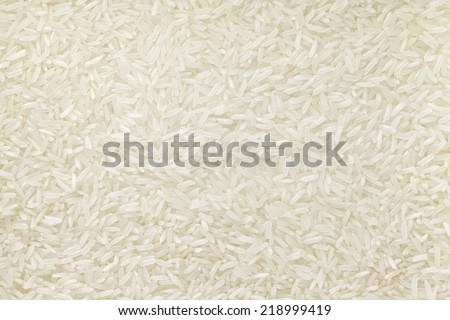 jasmine rice - stock photo