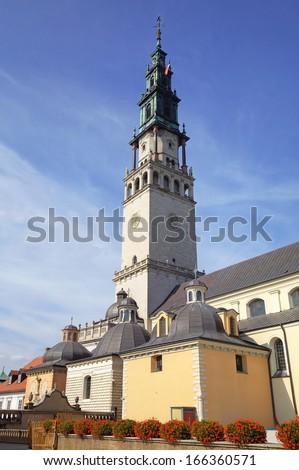 Jasna Gora Monastery. Czestochowa, Poland - stock photo