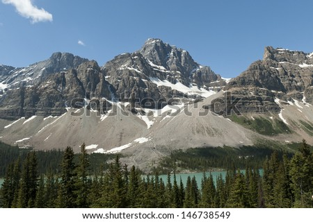 Jasper National Park - stock photo