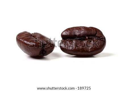 Java Beans - stock photo