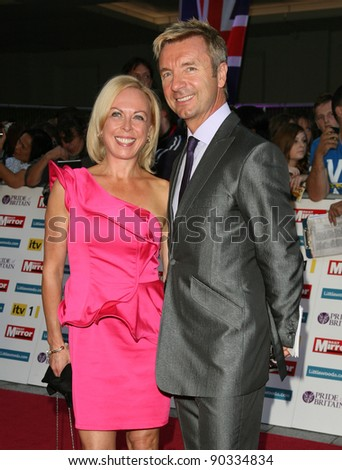 Jayne Torvill and Christopher Dean arriving for the 2011 Pride Of Britain Awards, at the Grosvenor House Hotel, London. 04/10/2011 Picture by: Alexandra Glen / Featureflash - stock photo