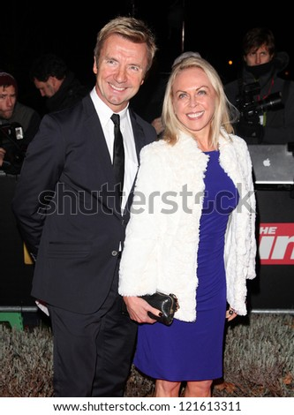 Jayne Torvill and Christopher Dean arriving for The Sun Military Awards, at The Imperial War Museum, London. 06/12/2012 Picture by: Alexandra Glen - stock photo