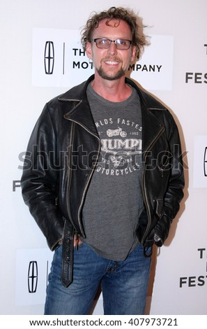 Jayson Warner Smith arrives at the World Premiere of The Devil and The Deep Blue Sea held at the BMCC Tribeca Performing Arts Center during the 2016 Tribeca Film Festival on April14th, 2016 in NYC - stock photo