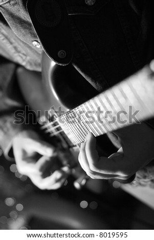 jazz man - stock photo