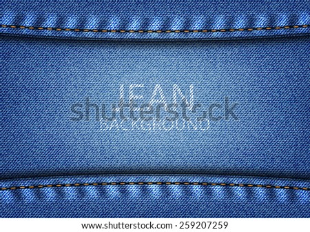 Jean background and texture