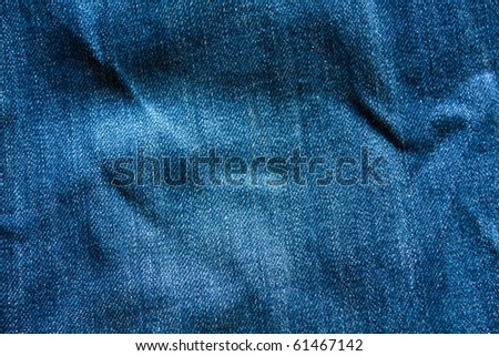 Jean texture - stock photo