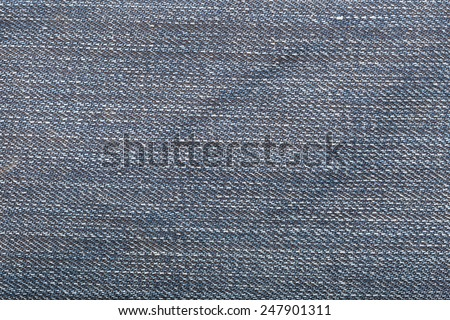 Jeans background or texture - stock photo