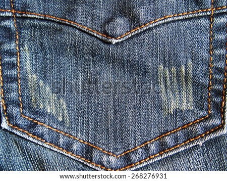 jeans backgrounds fashion  - stock photo