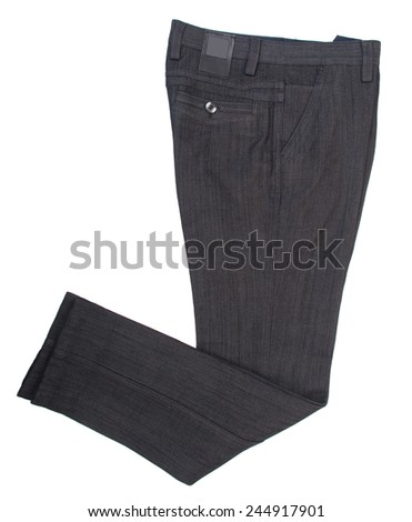 jeans isolated on a background. jeans isolated on a background.