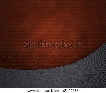 Jeans on Leather - stock photo