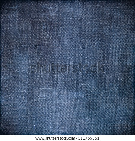 Jeans Paper Texture Fabric Scrapbooking Background - stock photo
