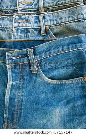 jeans's rim,possible to use background