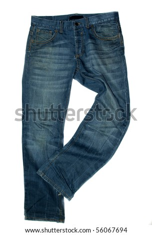 Jeans style - stock photo