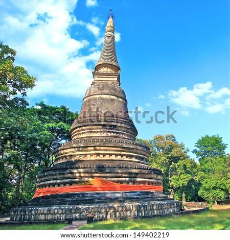 Jedi Temple in thailand - stock photo
