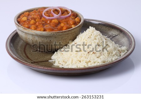 Jeera rice - stock photo