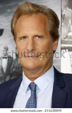 """Jeff Daniels at the HBO's Season 2 Premiere of """"The Newsroom"""" held at the Paramount Studios in Hollywood on July 10, 2013 in Los Angeles, California.  - stock photo"""