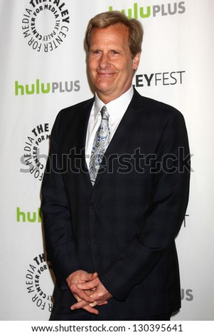 "Jeff Daniels at ""The Newsroom"" at PaleyFest 2013, Saban Theater, Beverly Hills, CA 03-03-13"