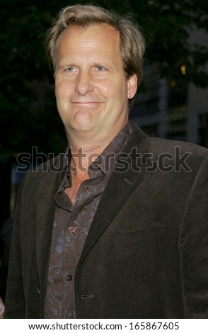Jeff Daniels at THE SQUID AND THE WHALE New York Film Festival Premiere, Alice Tully Hall, Lincoln Center, New York, NY, September 26, 2005 - stock photo