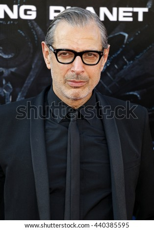 Jeff Goldblum at the Los Angeles premiere of 'Independence Day: Resurgence' held at the TCL Chinese Theatre in Hollywood, USA on June 20, 2016.