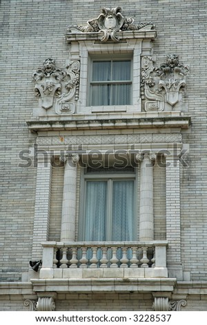 Jefferson Hotel Window - Richmond, Virginia
