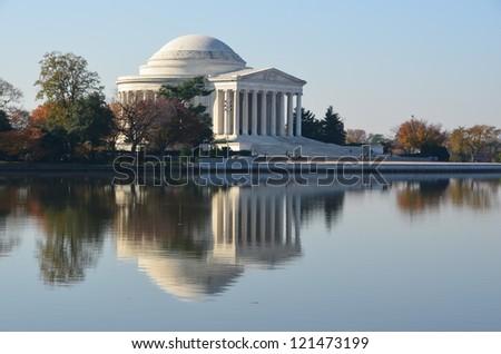 Jefferson Memorial - stock photo