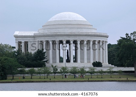 Jefferson Memorial, Washington, D.C., Architects:  Pope, Eggers, & Higgins