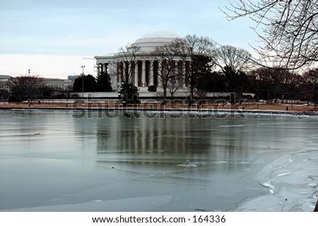 Jefferson Memorial, Washington DC - stock photo
