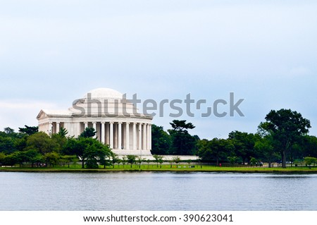 Jefferson Memorial - Washington DC - USA