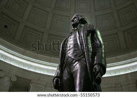 Jefferson Memorial Washington DC USA - stock photo