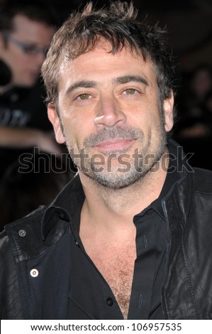 Jeffrey Dean Morgan  at the Los Angeles Premiere of 'Twilight'. Mann Village, Westwood, CA. 11-17-08 - stock photo