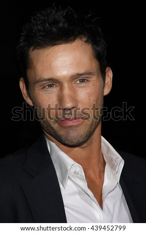 "Jeffrey Donovan at the Los Angeles Premiere of ""Changeling"" held at the Academy of Motion Picture Arts and Sciences in Beverly Hills, USA on October 23, 2008. - stock photo"