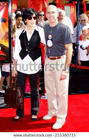 "Jeffrey Katzenberg attends the Los Angeles Premiere of ""Kung Fu Panda"" held at the Grauman's Chinese Theater in Hollywood, California, United States on June 1, 2008. - stock photo"