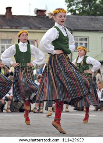 The Latvian Folk Dress