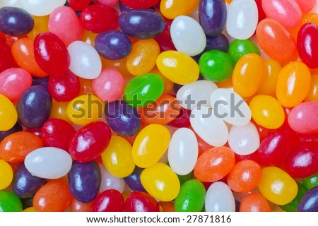 jelly beans multi colored backdrop or background