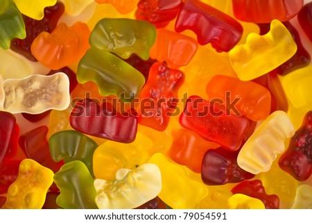 jelly bears - stock photo