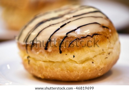 Jelly Doughnut - stock photo