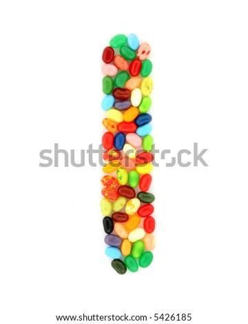 jellybean I - stock photo
