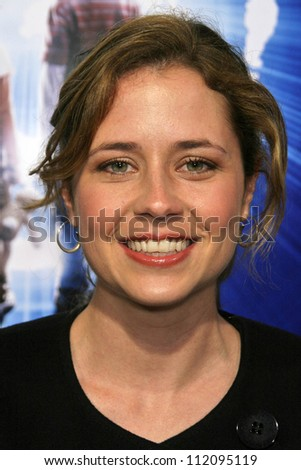 "Jenna Fischer at the Los Angeles Premiere of ""The Last Mimzy"". Mann Village Theatre, Westwood, CA. 03-30-07 - stock photo"