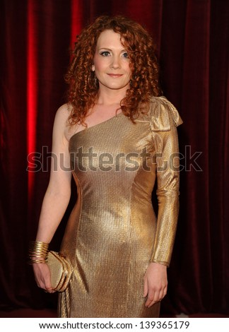 Jennie McAlpine arriving for the British Soap Awards 2013, at Media City, Manchester. 18/05/2013